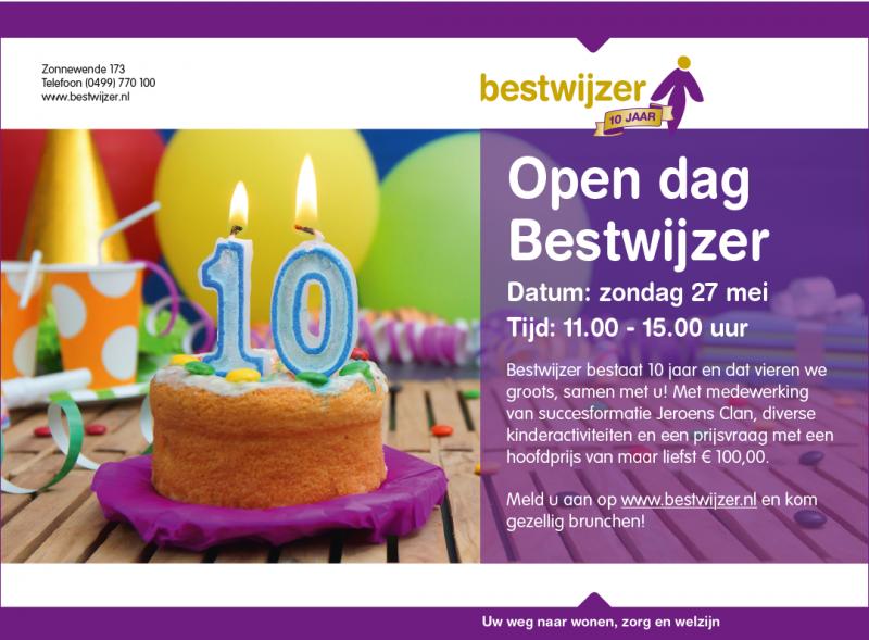 Open dag Bestwijzer